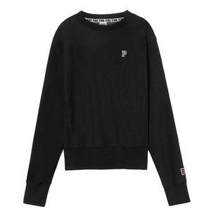 VS pink brand boyfriend sweater in black Size L